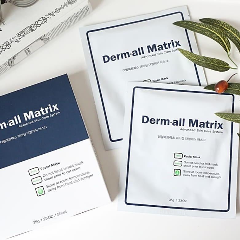 Derm all Matrix Facial Dermal Care Mask