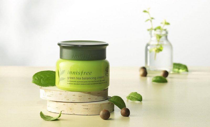 Kem Dưỡng Innisfree Green Tea Balancing Cream EX
