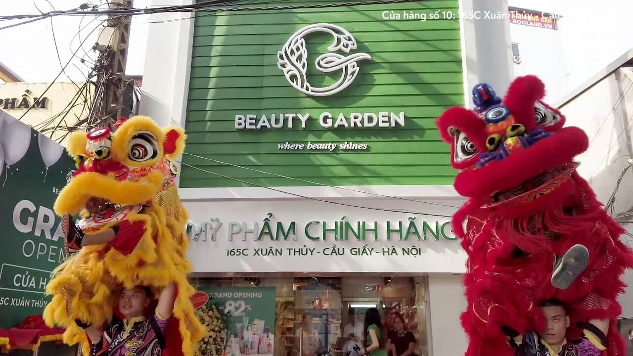 cửa hàng mỹ phẩm Hà Nội