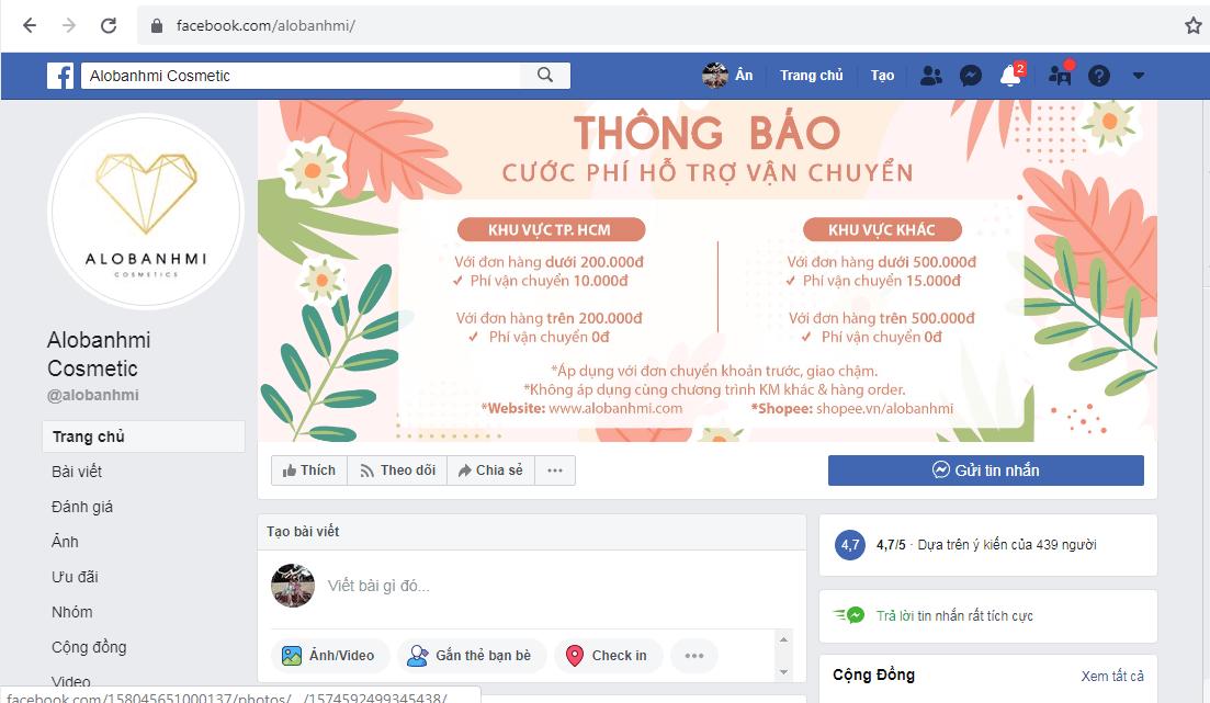 Cửa Hàng Mỹ Phẩm Sài Gòn