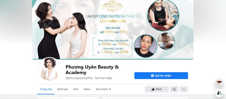 Phương Uyên Beauty & Academy Hải Phòng