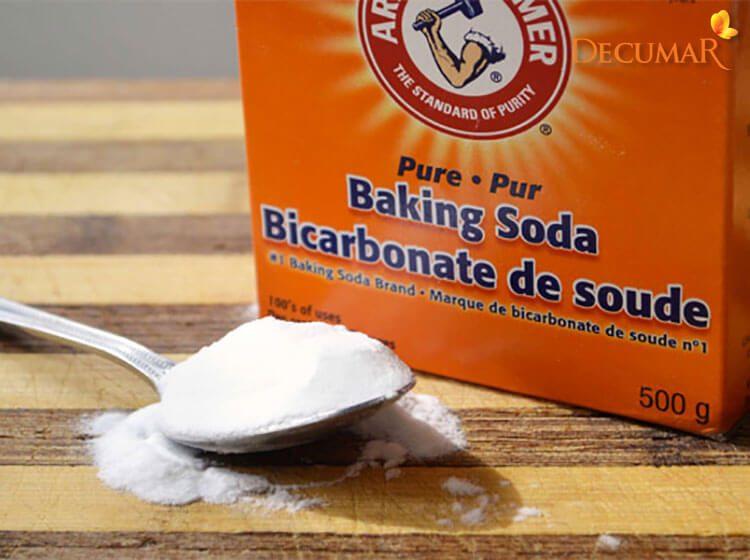 Trị mụn thâm bằng Baking soda