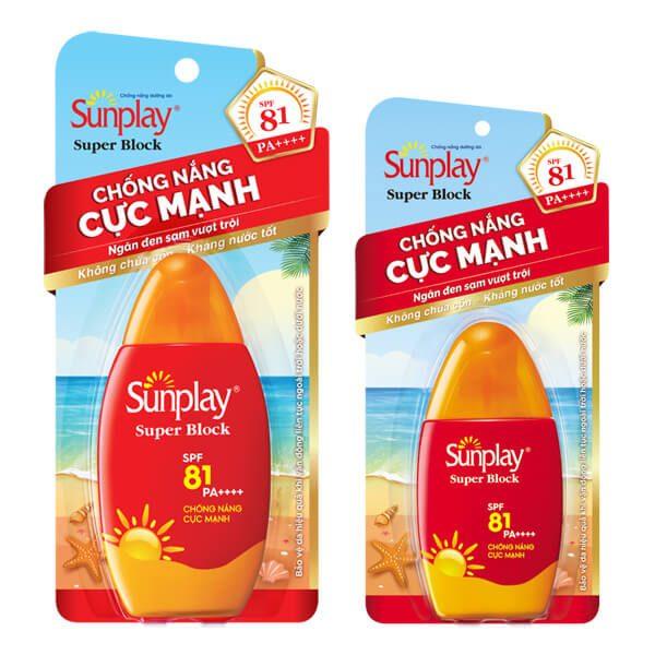 Sunplay Super Block Spray SPF 81
