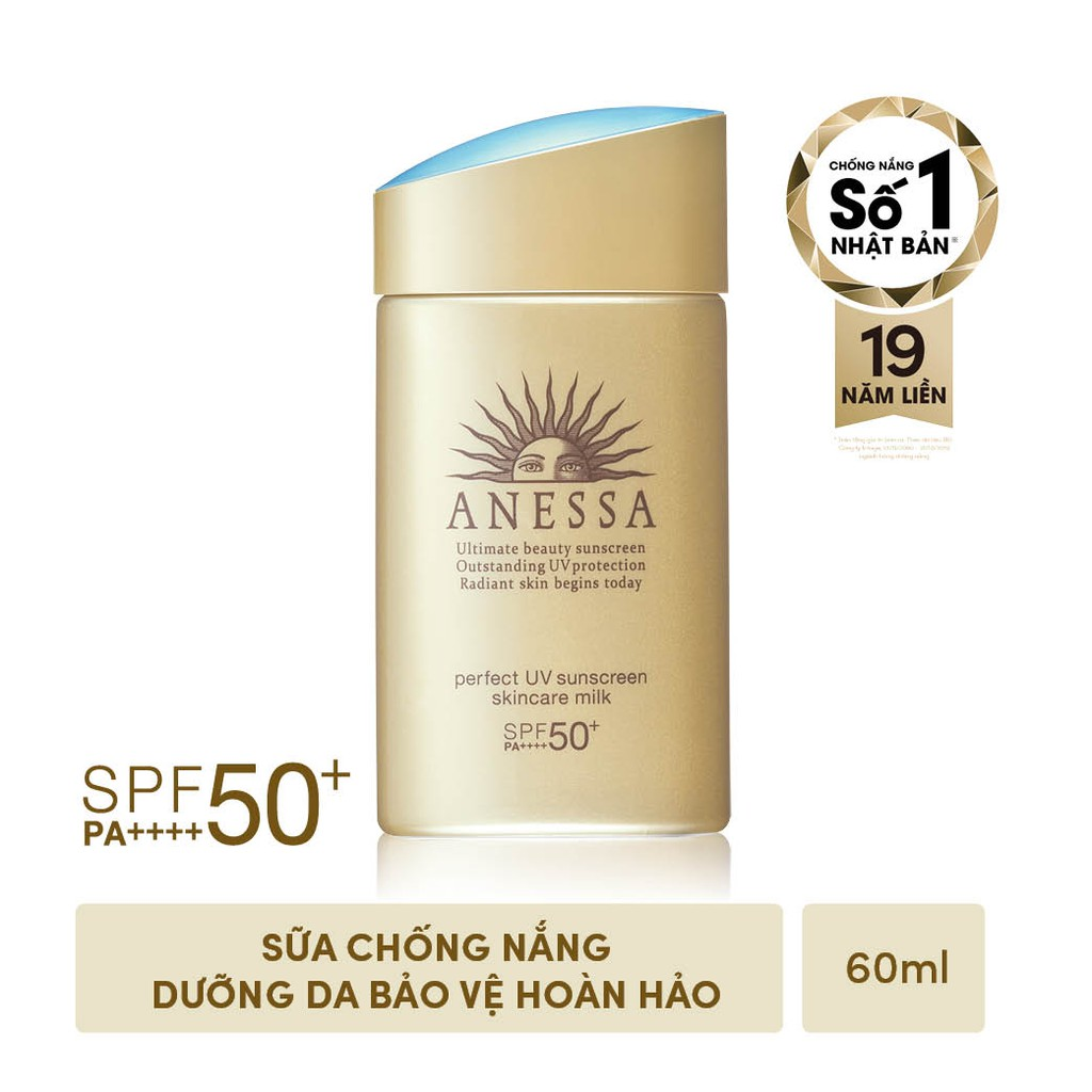 Sữa Chống Nắng Anessa Perfect UV 60ml