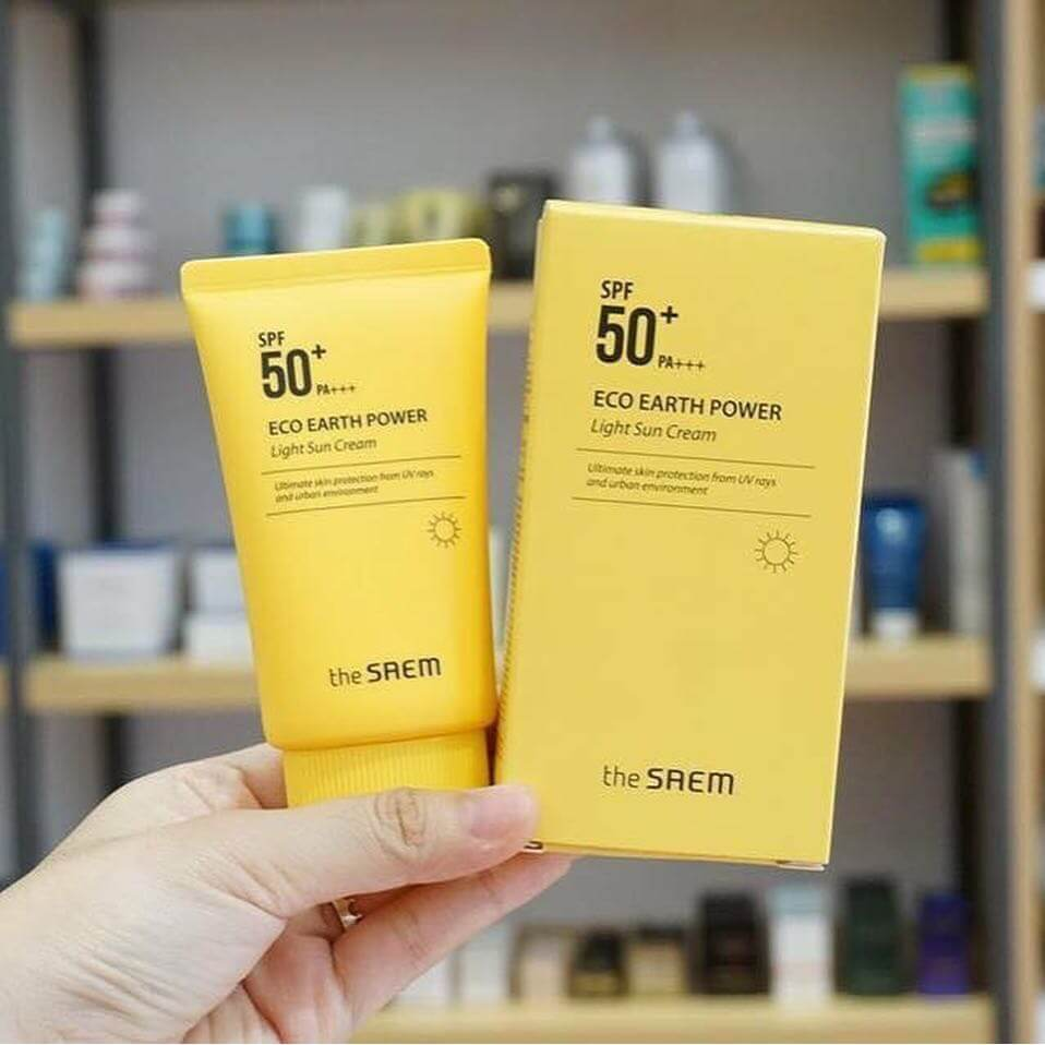 The Saem Eco Light Sun Cream