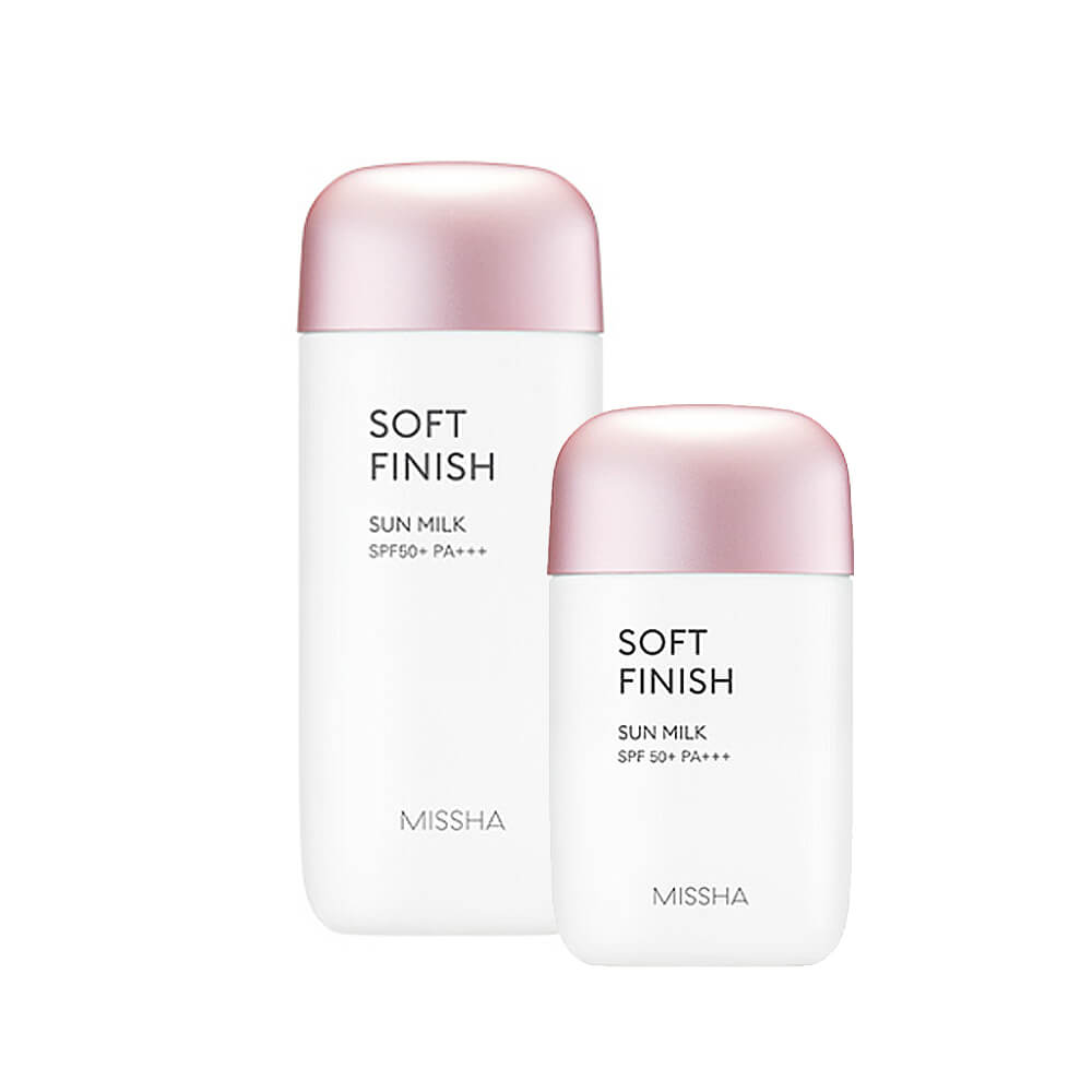 Missha All Around Safe Block Soft Finish Sun Milk SPF50