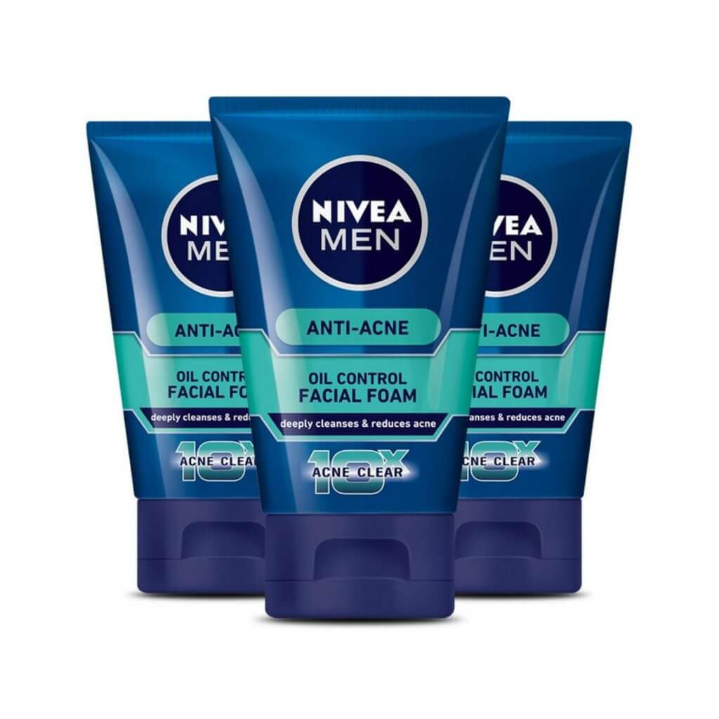 Nivea Men Anti - Acne Facial Foam