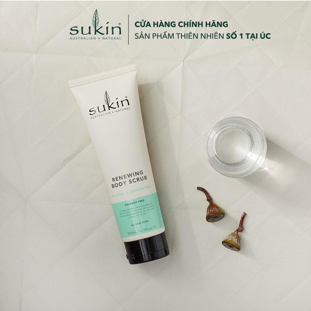 Sukin Renewing Body Scrub with Green Tea & Jojoba