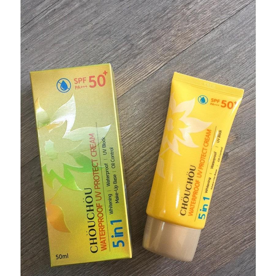 chống nắng dành cho da mụn