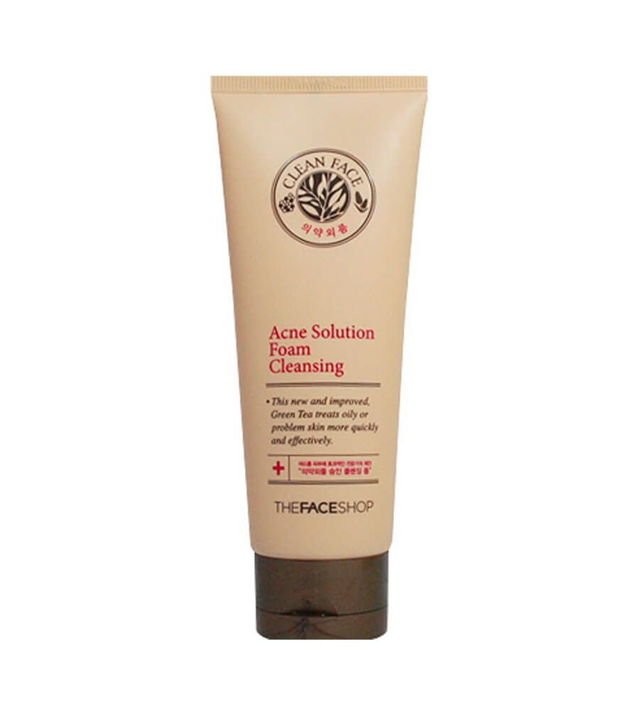 The Face Shop Acne Solution Foam Cleansing
