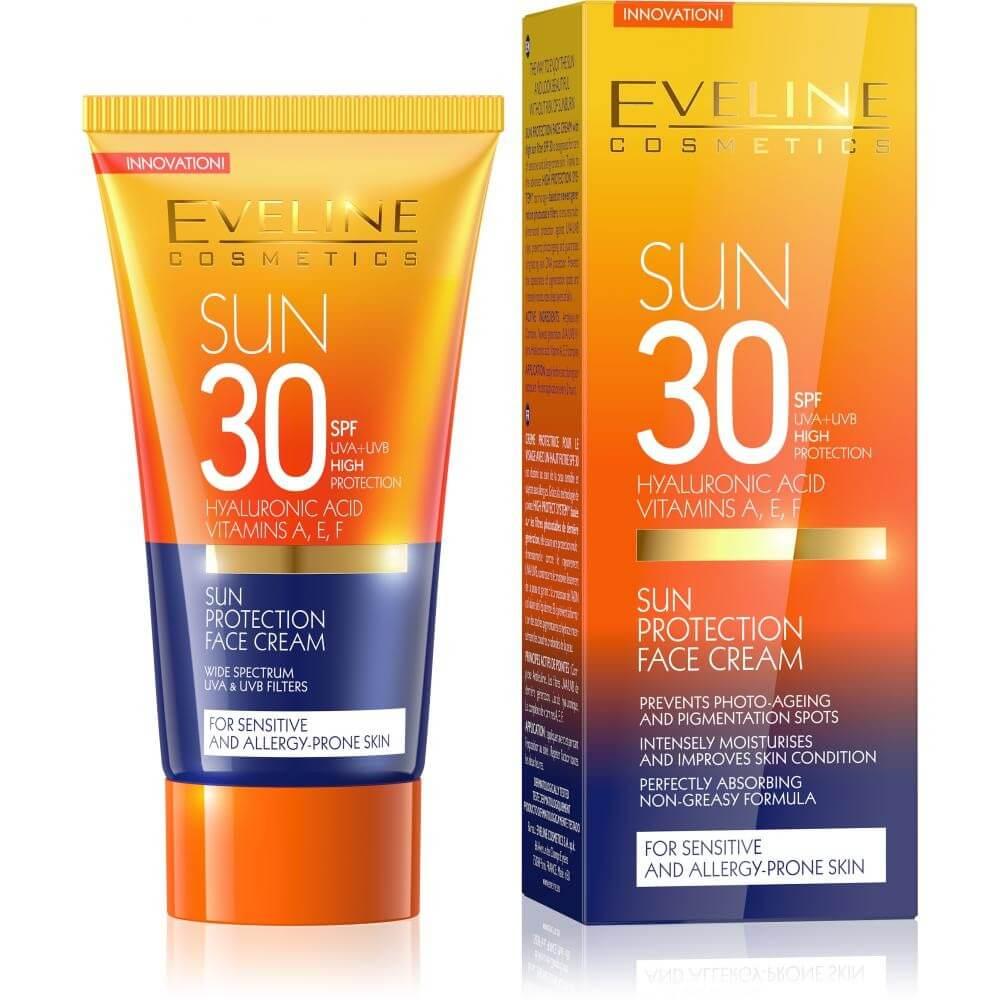 Chống Nắng Eveline Face Sun Cream SPF 30 PA+++ 50ml