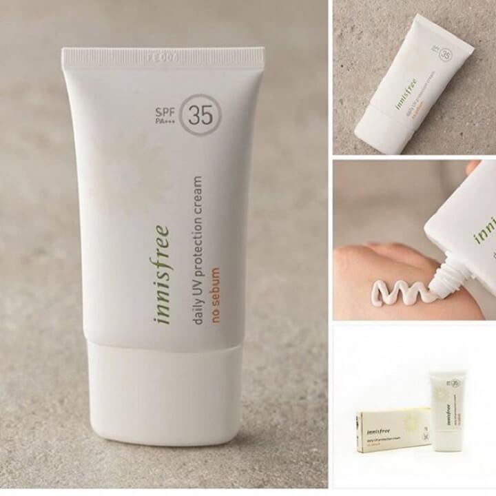 Innisfree Daily UV Protection Cream No Sebum SPF35