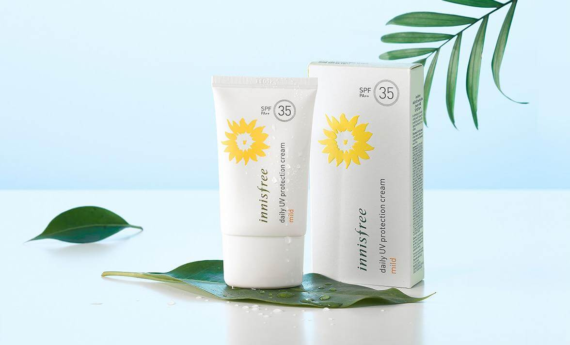 Kem Chống Nắng Innisfree Daily UV Protection Cream Mild SPF 35 PA++