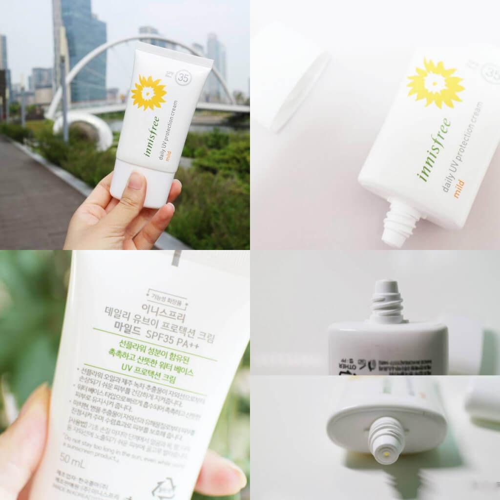 Kem Innisfree Daily UV Protection Cream Mild SPF 35 PA++