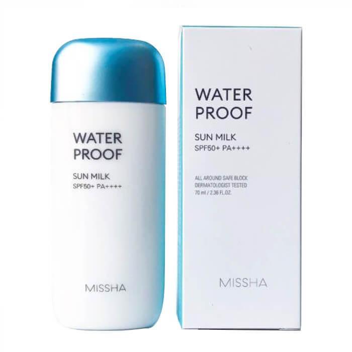 Kem chống nắng Missha WaterProof Sun Milk (XANH DƯƠNG)