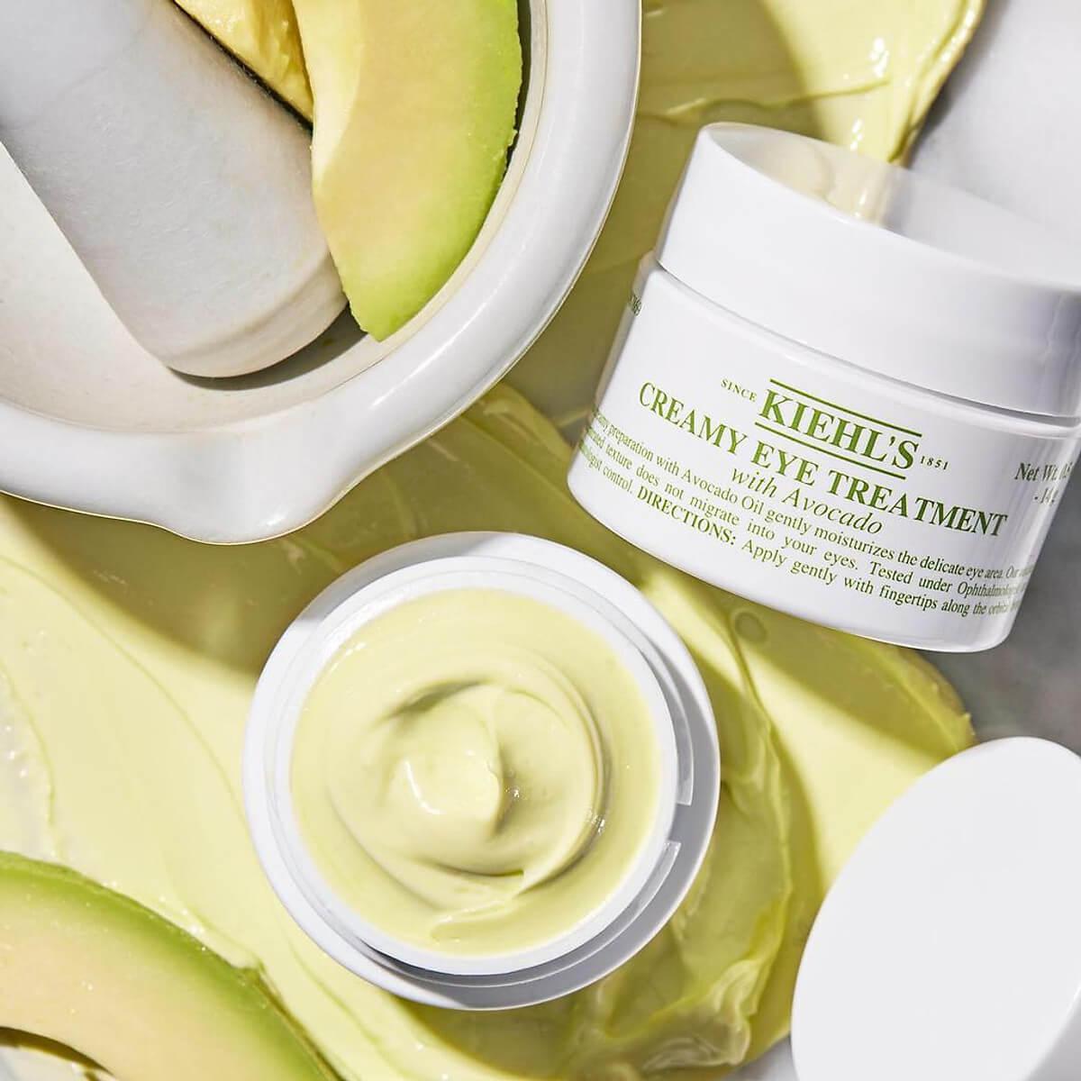 Kem Dưỡng Mắt Chống Nếp Nhăn Kiehl's Creamy Eye Treatment With Avocado
