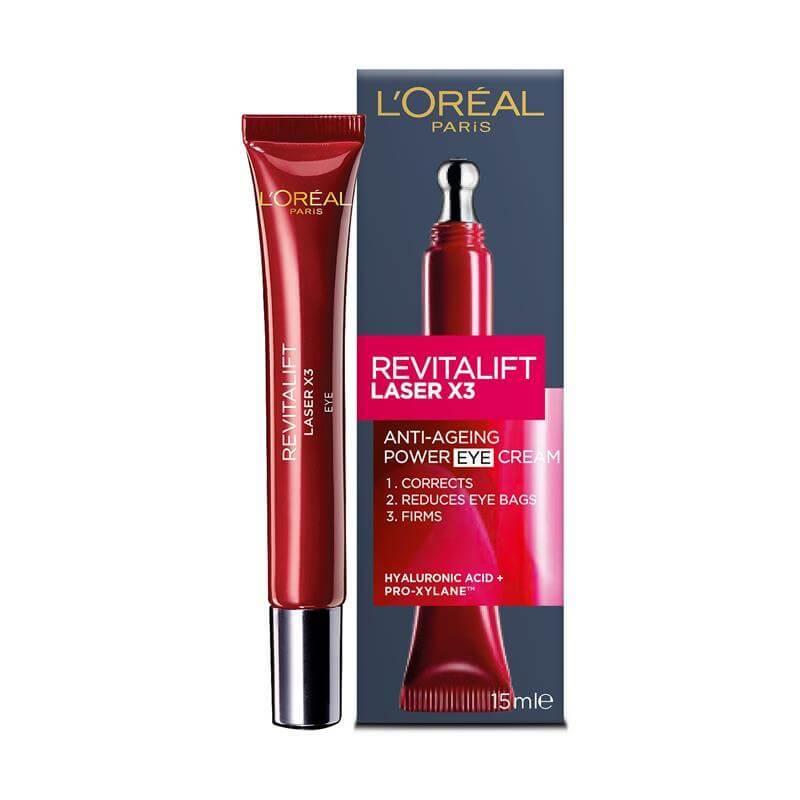 L'Oreal Paris Revitalift Triple Power Eye Cream with Pro-Retinol Hyaluronic Vitamin C