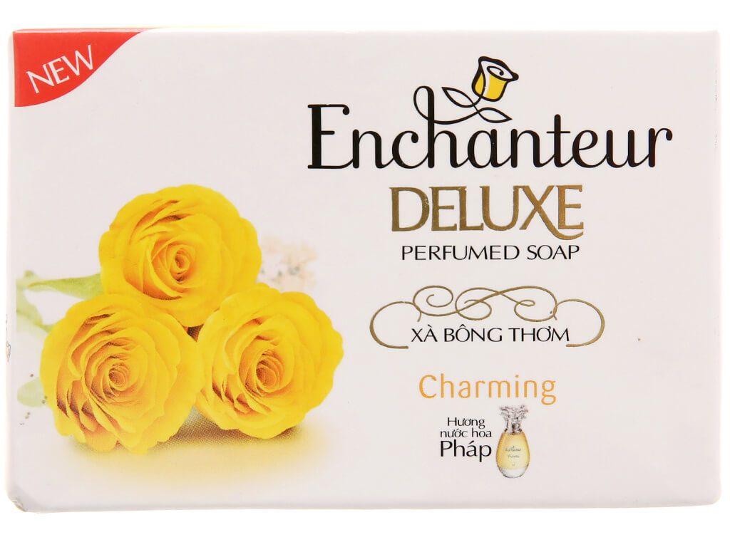 Xà Phòng Hương Nước Hoa Enchanteur Deluxe Charming 90g