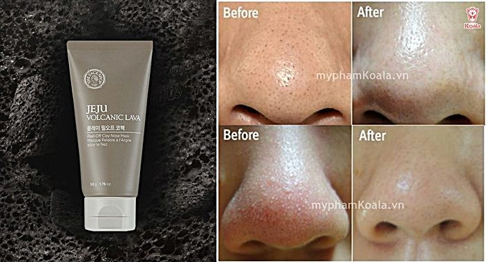 Tuýp lột mụn Thefaceshop Jeju Volcanic Lava Peel Off Clay Nose Mask