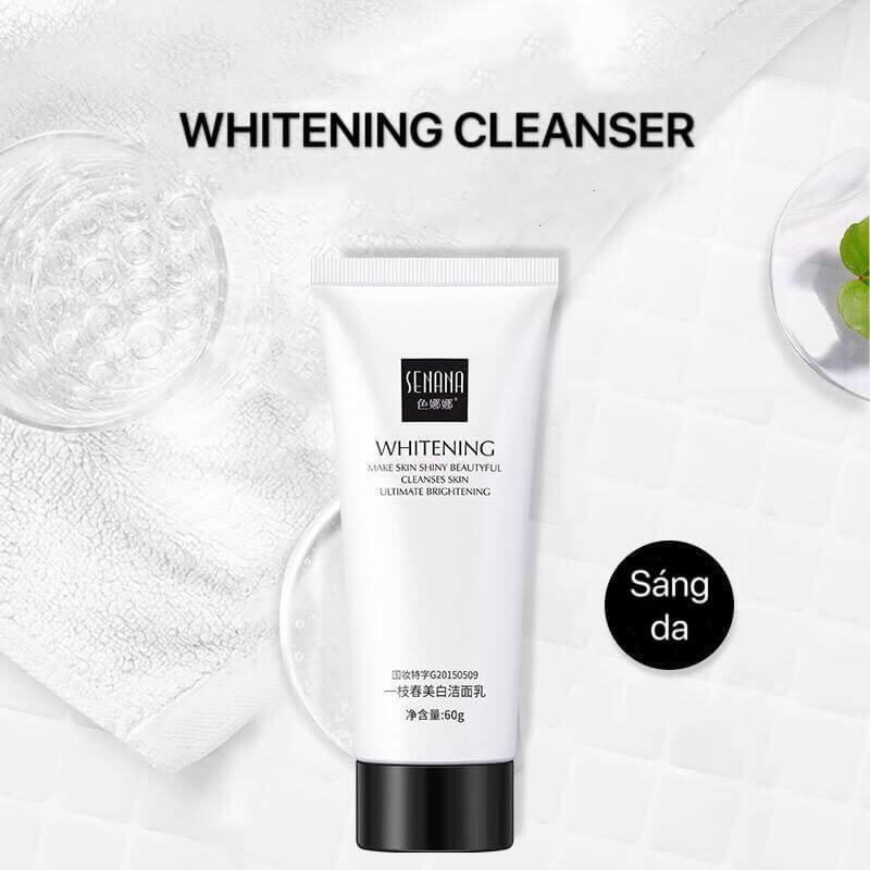 Sữa rửa mặt Senana Amino Acid làm sạch sâu chính hãng nội địa Trung