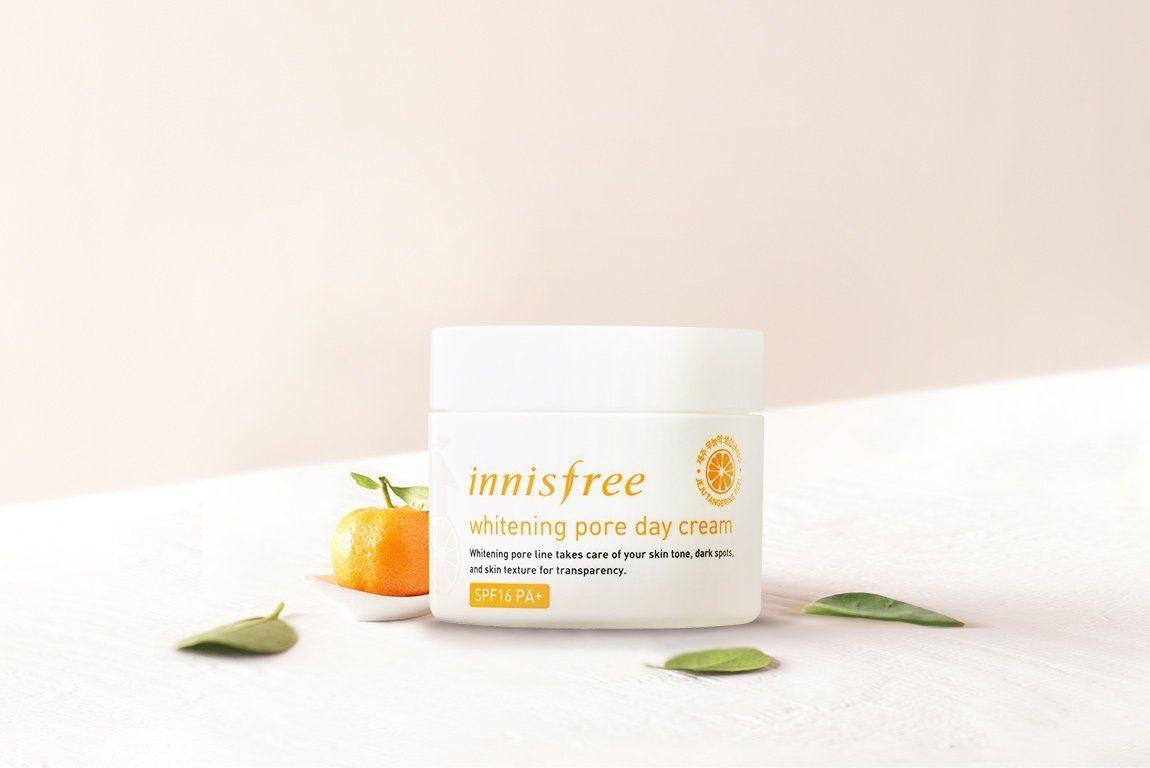 body Innisfree Whitening Pore Cream