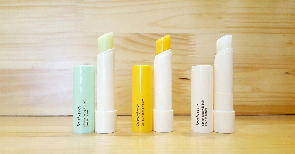 Các dòng sản phẩm Innisfree Canola Honey Lip Balm